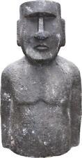 G2421: Moai, Osterinsel Figur, Garten Skulptur, Deko Garten Figur, 95 cm.