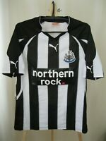 Newcastle United 2010/2011 home Size S Puma football shirt jersey maillot soccer