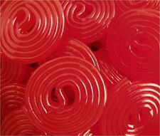 Broadway Red Strawberry Licorice Wheels - 2 POUNDS - Bulk Candy FREE SHIPPING