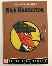 Manfred Schmidt Nick Knatterton Bild - Comic - Bibliothek  Band