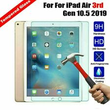 "100%Genuine TEMPERED GLASS Screen Protector  For Apple ipad Air3 10.5"" inch 2019"