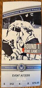 1999 Toronto vs Philadelphia 1/4 finals PLAYOFFS Game 1 Vanbiesbrouck SO 3-0