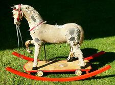 Altes Spielzeug Pferd   schaukel pferd Thüringen.