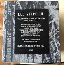 "Led Zeppelin""The Complete Studio Recordings"" (CD Sep-1993, 10 Discs) Box Set"