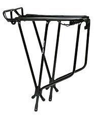 Topeak Super Tourist Tubular Rack, With Spring, Black Bike Rack
