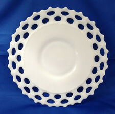 WG Milkglass Serving Platter Plate