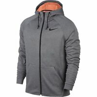Nike Men's Training Therma Sphere Full Zip Hooded Jacket GRAY 860511 091 MEDIUM