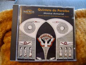 Música Armorial: String Quintets from Northeastern Brazil (1996) Nimbus 1996 CD