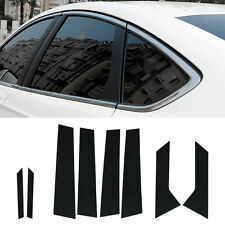 Carbon Door A,B,C Pillar Mask Window Trim For Ford Fusion / Mondeo 2014~2016