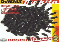 IMPACT EXTREME SCREWDRIVER 50 X PH2 DRILL BIT fits MAKITA DEWALT BOSCH MILWAUKEE