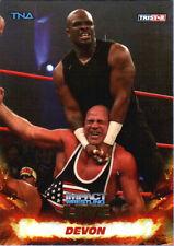 TNA Devon #33 2013 Impact Wrestling LIVE GOLD Parallel Card SN 23 of 50
