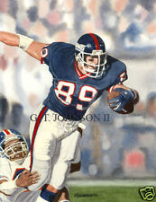 MARK BAVARO NEW YORK GIANTS SUPERBOWL CATCH ART PRINT