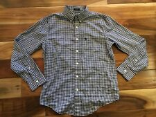Mens Abercrombie & Fitch Classic Long Sleeve Button Down Shirt Plaid Size XS