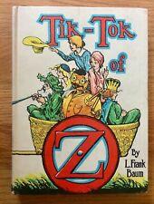 TIK-TOK of OZ L Frank Baum Vintage Reilly & Lee Hardcover 1914