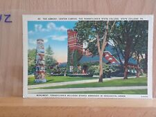 Linen post card, Armory, Pennsylvania State College