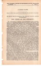 Cmte. on Judiciary -Alabama Claims - Views of the Minority