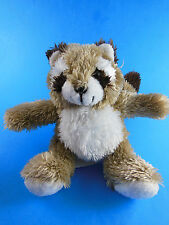 "Melissa & Doug Rascal Raccoon Plush 6"" sitting size Very Cute"