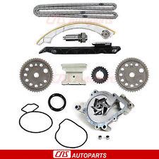 """Fits 00-08 Chevy Saturn DOHC Ecotec 2.0L 2.2L """"L61"""" Timing Chain Water Pump Kit"""