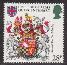 GB 1984 Neuf sans charnière Stamp-Arms of the Earl Marshall College of Arms Quincentenary