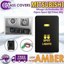 Push Switch SPOT LIGHTS for Mitsubishi Pajero Sport QE Triton MQ LED AMBER