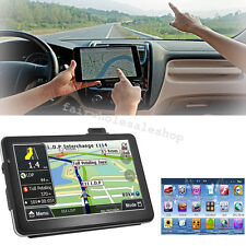 "7"" HD Touch Screen CAR TRUCK 8GB GPS Navigation Navigator SAT NAV Multi-use HOT"