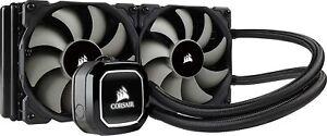 Corsair Hydro H100x Radiator Dual PWM Fans Liquid CPU Cooler - CW9060040WW