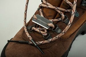 AirForceOne® 'Twisted Fire Starter' Paracord Boot Laces/Flint-5 colour choice