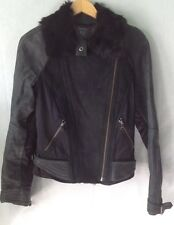 Armani Exchange woman's leather jacket Small