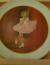 SHIRLEY TEMPLE BABY TAKE A BOW NUMBERED COLLECTOR PLATE 7568 CERTIFICATE & BOX
