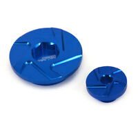 Blue Billet Engine Timing Cover Plug For Yamaha YZ250F 01-13 YZ450F 98-05 XT250X
