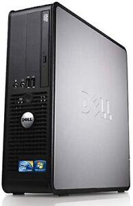 Fast Reliable Office/Media PC Dell Optiplex 780 SFF 8GB Ram 240B SSD WIFI Win 10