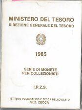 61053 - ITALIA REPUBBLICA - SERIE MONETE della ZECCA - 1985