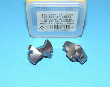 """ISCAR IDI 0969 SK IC908 Carbide Drill Tip Inserts (0.969"""" / 24.6mm) * 2 PIECES *"""