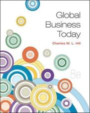 Global Business Today by Charles W. L. Hill (2013, Paperback)