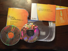 Microsoft Office Small Business 2007-Word Excel Outlook Power Point + Llave