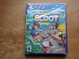 Crayola Scoot (Sony PlayStation 4, 2018) *Brand New & Sealed*