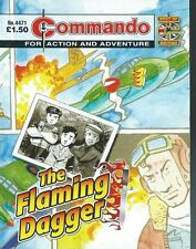 THE FLAMING DAGGER,COMMANDO FOR ACTION AND ADVENTURE,NO.4471,WAR COMIC,2012
