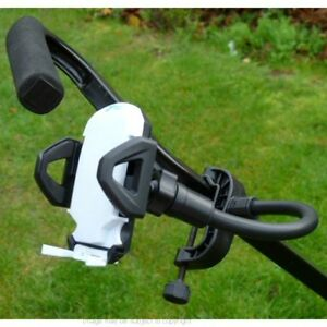 Adjustable Golf Trolley GPS Holder G-Clamp Mount fits the Skycaddie SGX