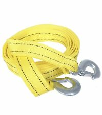 Heavy-Duty 3 Tons  Car Tow Rope Cable Towing Strap With Hooks For Emergency