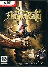 DIMENSITY - Brand New in Sealed DVD Box - PC Hack 'n Slash RPG with RTS Elements