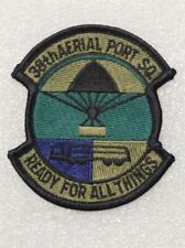 Usaf Air Force Patch: 38th Aerial Port Squadron - subdued