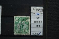 FRANCOBOLLI COLONIE LIBIA USATI N. 96 (A10029)