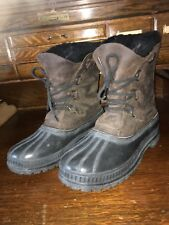 Sorel Mens Snow Winter Boots Size 8 Made In Usa