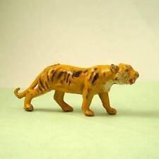 Vintage Lead Zoo Wildlife Rare TIGER by Charbens 1920s - 50s - Britains Era VGC