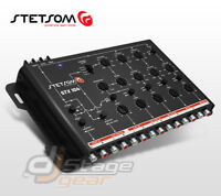 Stetsom STX 104 Crossover - 5 Way Crossovers 9v Output - STX104 Signal Processor
