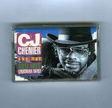 CASSETTE TAPE (NEW) C.J. CHENIER AND THE RED HOT LOUISIANA BAND