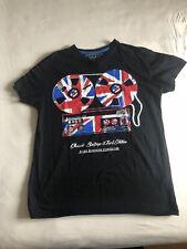 Cedar Wood State T- Shirt Herren Black Schwarz S Small 100% Cotton