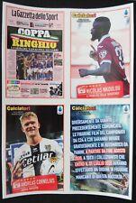 Calciatori 2019-2020, Panini: figurine C21-C23 Il Film del Campionato