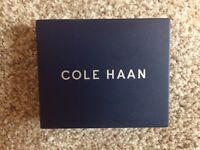 Cole Haan Men's Slim Billfold, Unopened, Cognac, Free Shipping to US48!
