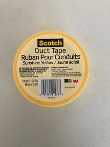 3M Scotch Duct Tape - Sunshine Yellow